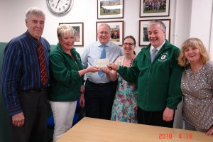 BARWELL PARISH COUNCIL SUPPORT BARWELL BLOOMERS