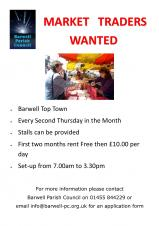 MARKET TRADERS WANTED