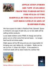 STALL HOLDERS WANTED FOR BARWELL BY THE SEA