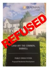 GLADMAN DEVELOPMENT IN BARWELL REFUSED ON APPEAL