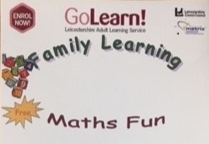 WOULD YOU LIKE TO HELP YOUR CHILD WITH THEIR MATHS?