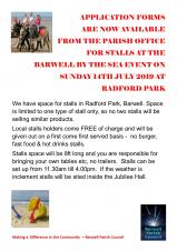 STALL HOLDERS WANTED FOR BARWELL BY THE SEA EVENT