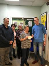 Barwell Knutty Knitters receive support from Parish Council