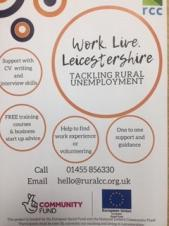 WORK LIVE LEICESTERSHIRE