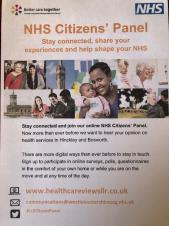 Sign up to the Citizens' Panel and help improve local health services