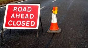 THIS WEEKS ROAD CLOSURES & DIVERSIONS