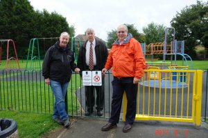 NEW SECURITY FENCING FOR RADFORD PARK